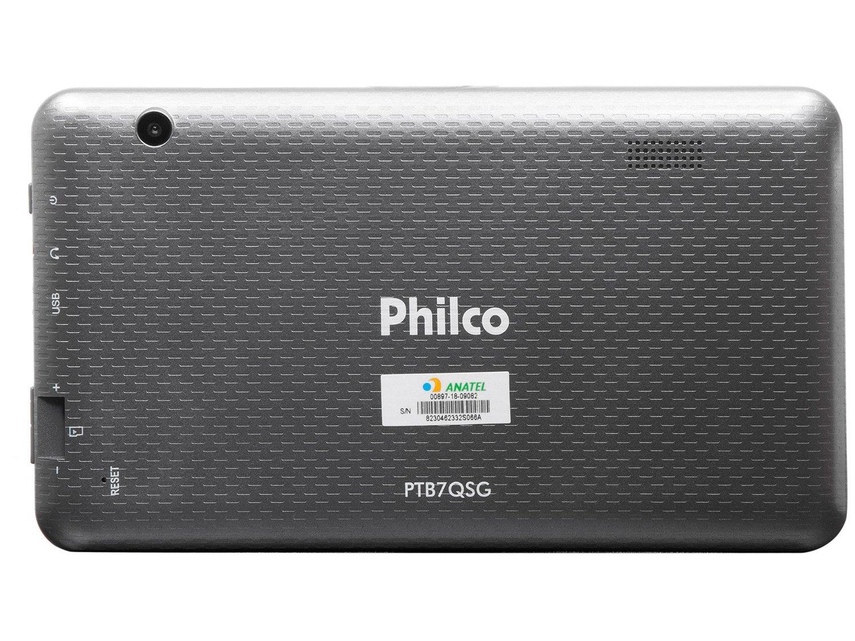 Foto 4 - Tablet Philco PTB7QSG 8GB 7 Wi-Fi - Android 7.1.2 Nougat Quad Core