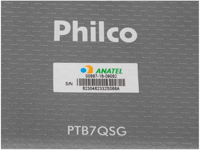 Foto 6 - Tablet Philco PTB7QSG 8GB 7 Wi-Fi - Android 7.1.2 Nougat Quad Core