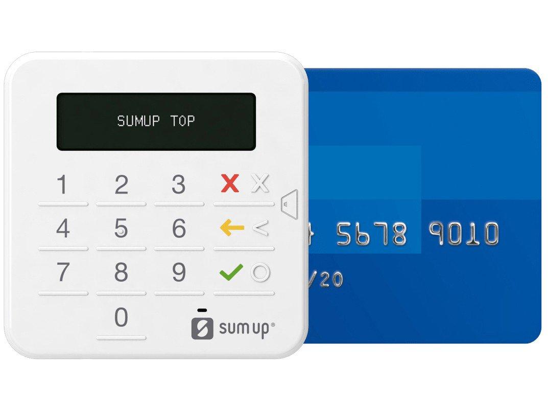 Máquina de Cartão SumUp Top Sem Aluguel - Bluetooth - 1