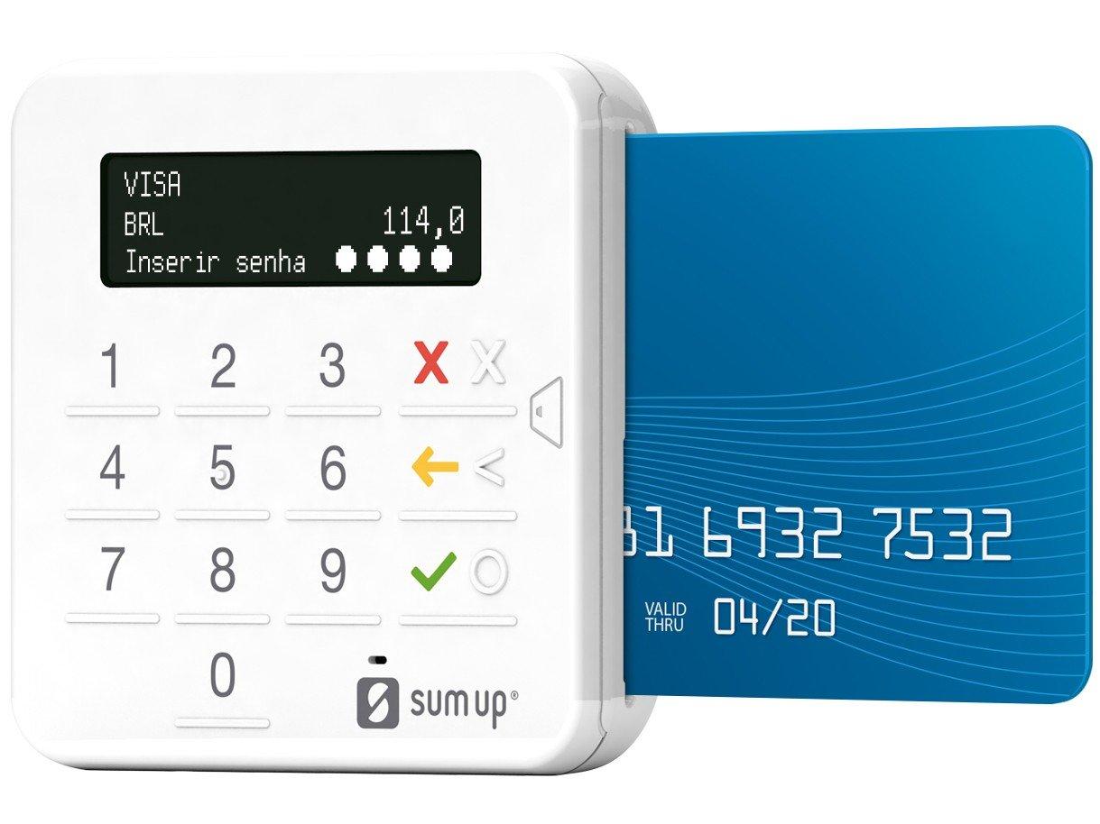 Máquina de Cartão SumUp Top Sem Aluguel - Bluetooth - 2