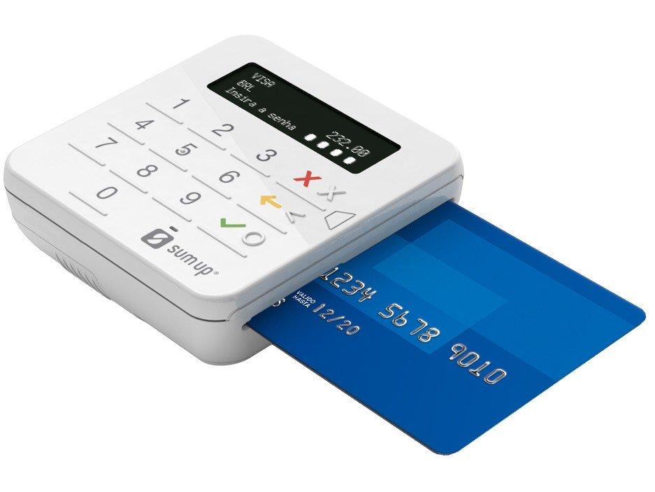 Máquina de Cartão SumUp Top Sem Aluguel - Bluetooth - 3