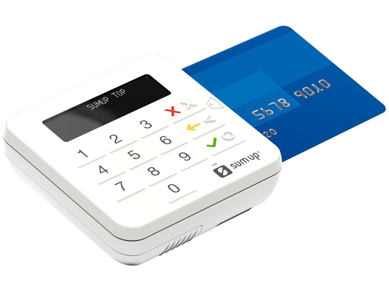Máquina de Cartão SumUp Top Sem Aluguel - Bluetooth - 4