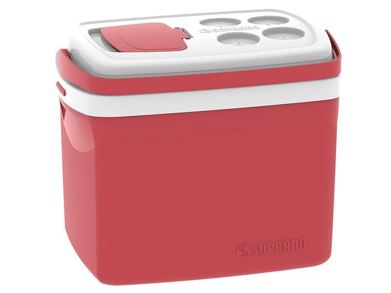 Caixa Térmica Soprano 32L Tropical - Vermelha - 1