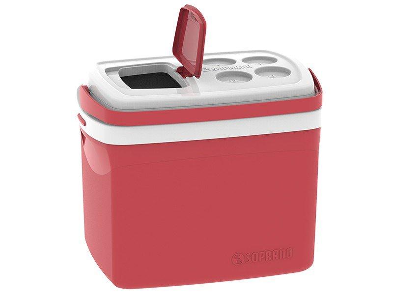 Caixa Térmica Soprano 32L Tropical - Vermelha - 2