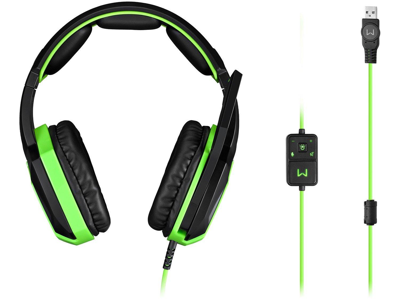Foto 3 - Headset Gamer para PC - Warrior PH224 Iluminado com LED