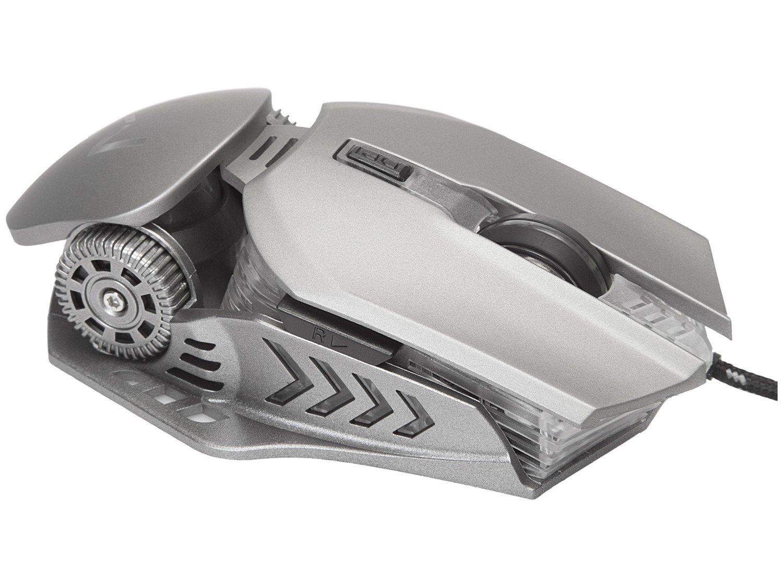 Mouse Gamer Warrior Keon Óptico - 3200dpi 6 Botões - 1