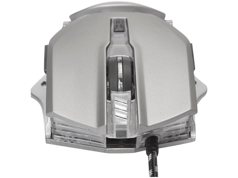 Mouse Gamer Warrior Keon Óptico - 3200dpi 6 Botões - 3
