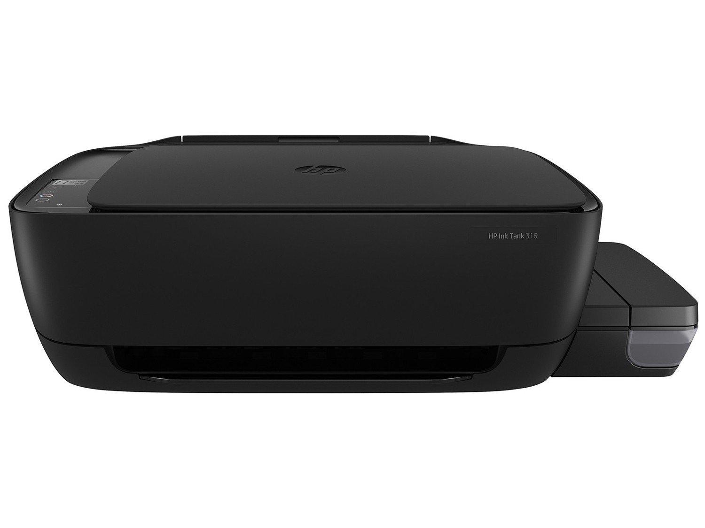 Foto 3 - Impressora Multifuncional HP Ink Tank 316 - Jato de Tinta Colorida LCD 1,14 USB