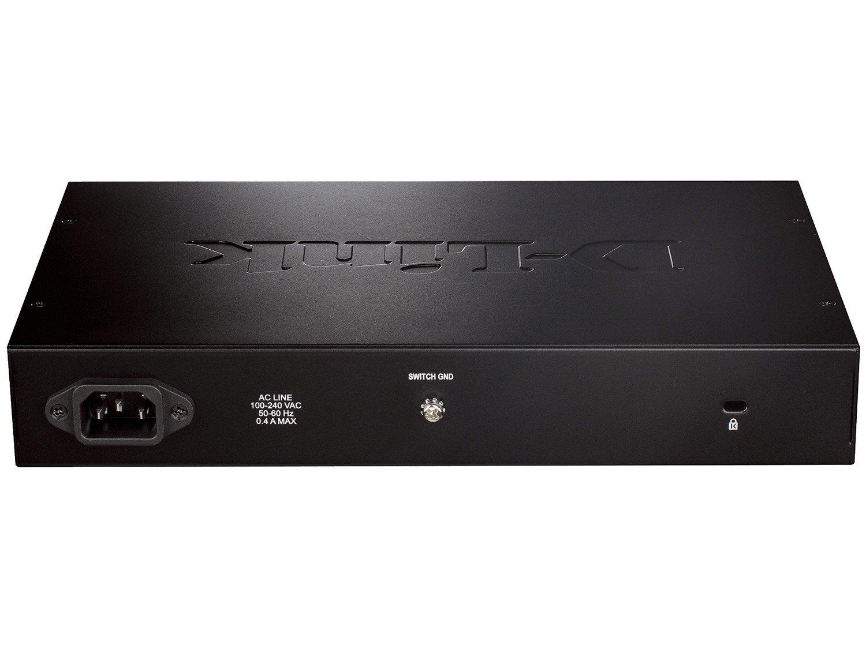 Foto 2 - Switch 16 Portas 32Gbps Gigabit Ethernet DGS-1016D - D-Link