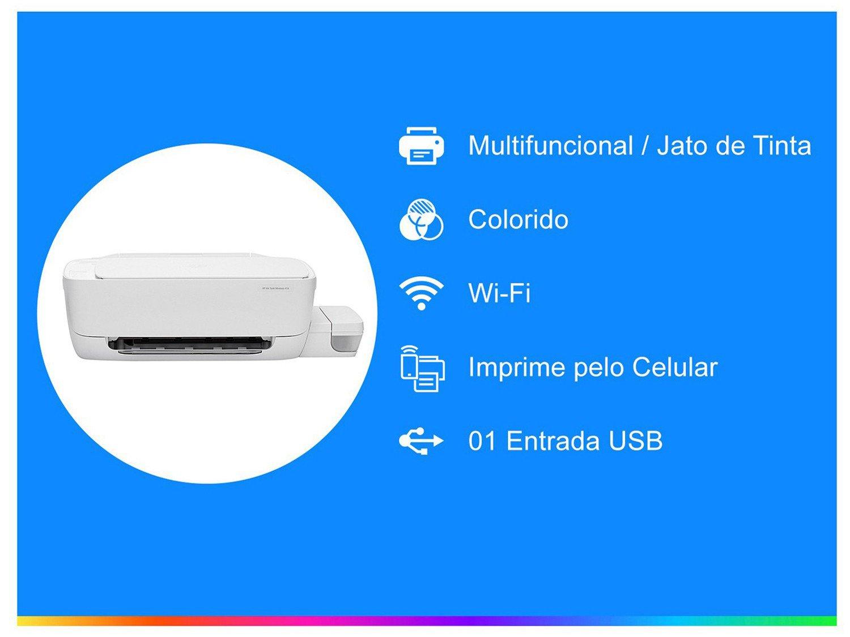 Foto 2 - Impressora Multifuncional HP Ink Tank Wireless 416 - Tanque de Tinta Wi-Fi Colorida LCD 1,14 USB
