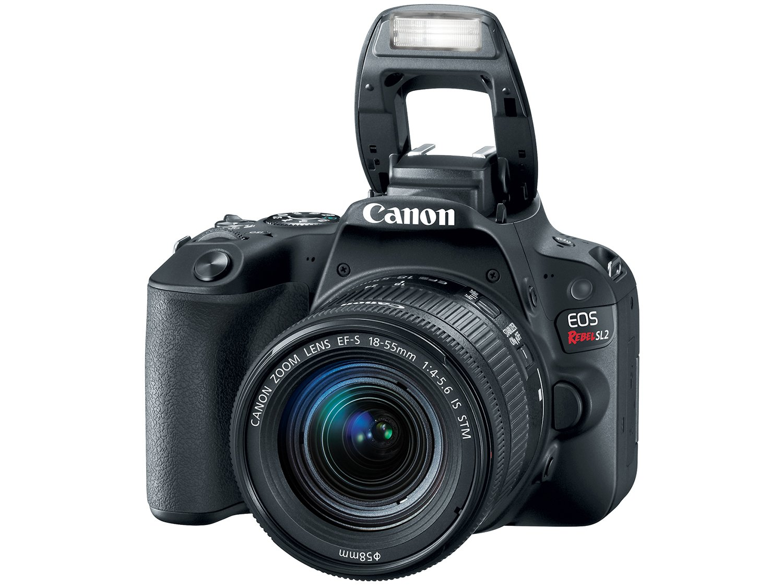 Câmera Digital Canon EOS Rebel SL2 DSLR 24.2 MP Full HD Wi-Fi Bluetooth