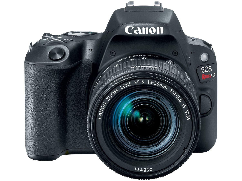 Câmera Digital Canon EOS Rebel SL2 DSLR 24.2 MP Full HD Wi-Fi Bluetooth - 3