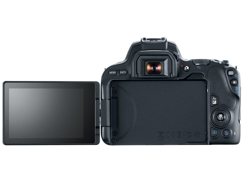 Câmera Digital Canon EOS Rebel SL2 DSLR 24.2 MP Full HD Wi-Fi Bluetooth - 6