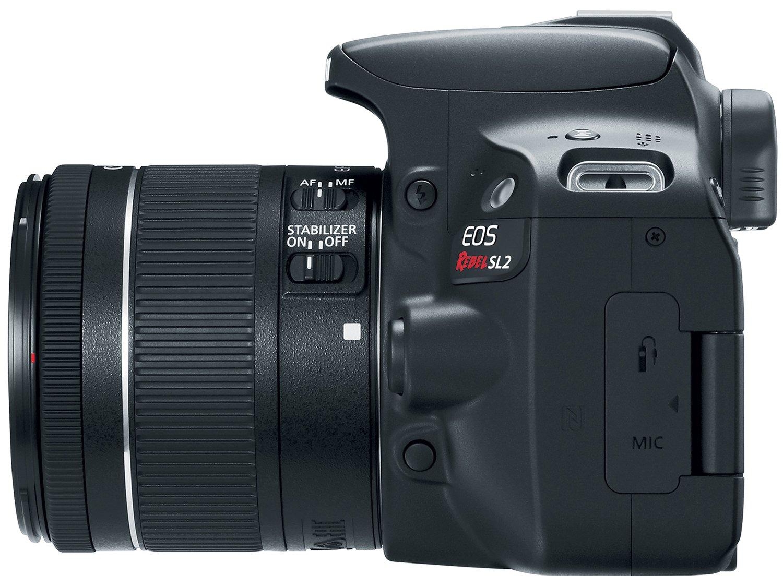 Câmera Digital Canon EOS Rebel SL2 DSLR 24.2 MP Full HD Wi-Fi Bluetooth - 9