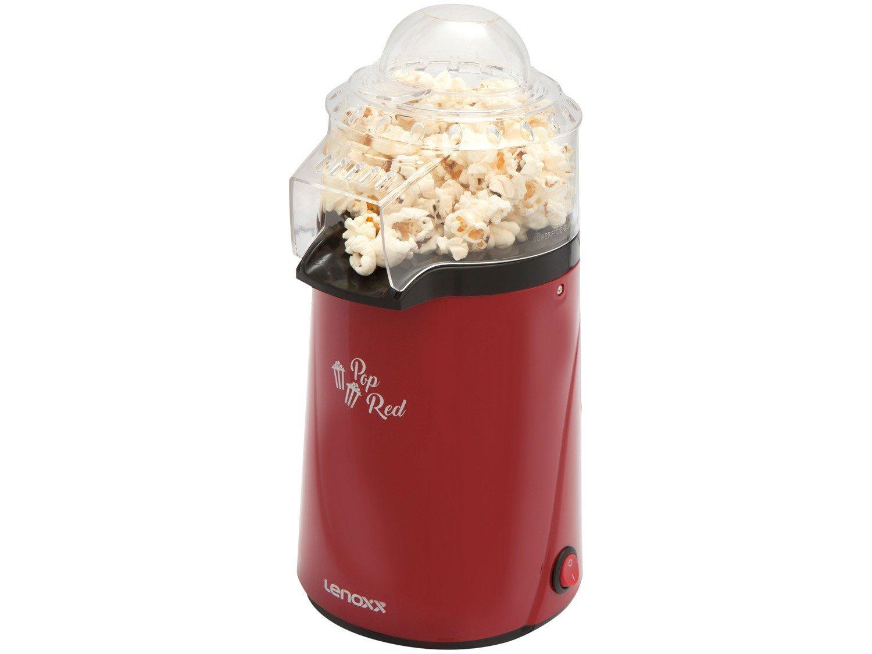 Pipoqueira Elétrica Lenoxx Pop Red - Vermelha 3 Xícaras de Pipoca - 110 V