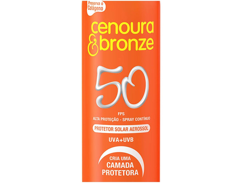 Foto 2 - Protetor Solar Corporal Cenoura & Bronze FPS 50 - 200ml