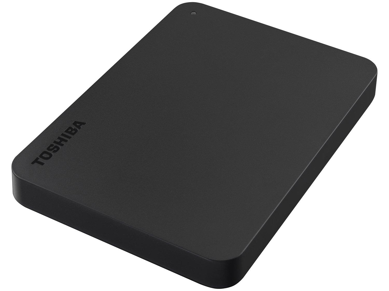 HD Externo 1TB Toshiba Canvio Basics - HDTB410XK3AA USB 3.0 - 2