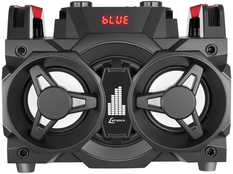Mini System Lenoxx Bluetooth 150W Rádio FM Karaokê - USB MS 8600 - Bivolt