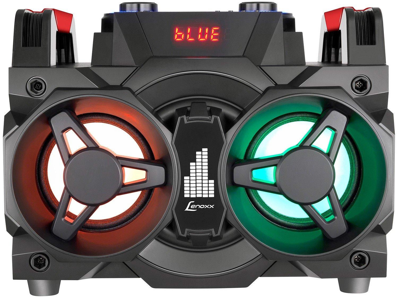 Mini System Lenoxx Bluetooth 150W Rádio FM Karaokê - USB MS 8600 - Bivolt - 2