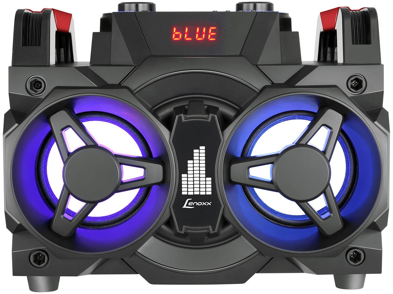 Mini System Lenoxx Bluetooth 150W Rádio FM Karaokê - USB MS 8600 - Bivolt - 4