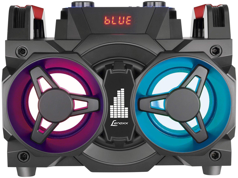Mini System Lenoxx Bluetooth 150W Rádio FM Karaokê - USB MS 8600 - Bivolt - 6