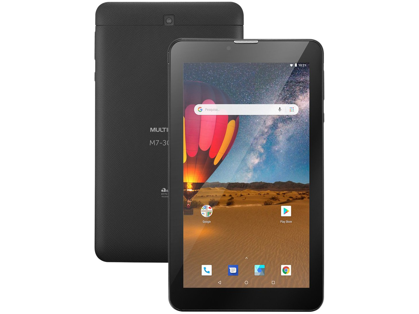 "Tablet Multilaser M7 3G Plus NB304 16GB 7"" - 3G Wi-Fi Android 8.0 Quad Core Câmera Integrada - Bivolt"