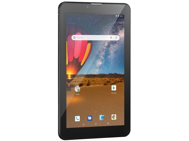 "Tablet Multilaser M7 3G Plus NB304 16GB 7"" - 3G Wi-Fi Android 8.0 Quad Core Câmera Integrada - Bivolt - 8"