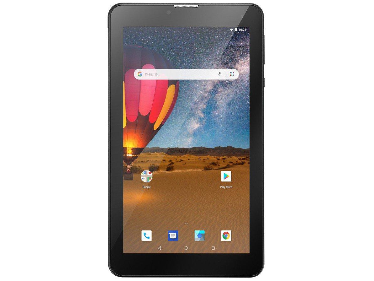 "Tablet Multilaser M7 3G Plus NB304 16GB 7"" - 3G Wi-Fi Android 8.0 Quad Core Câmera Integrada - Bivolt - 12"