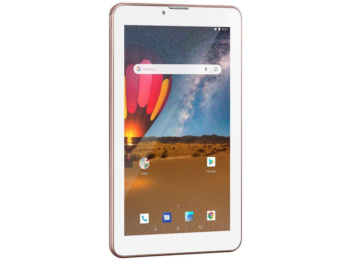 "Tablet Multilaser M7 3G Plus NB305 16GB 7"" - 3G Wi-Fi Android 8.0 Quad Core Câmera Integrada - Bivolt - 2"