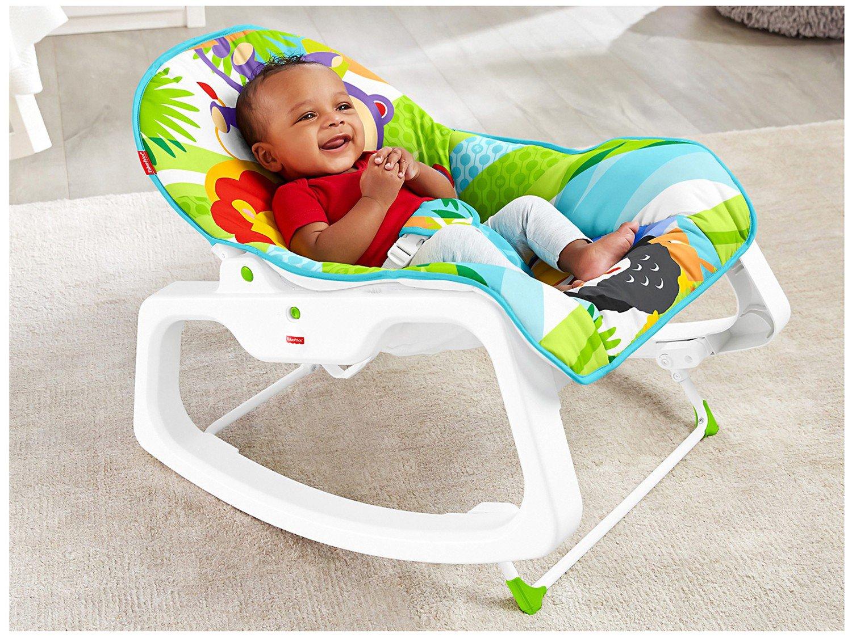 Cadeirinha de Descanso Fisher-Price Infant-to-Toddler Rocker Macaquinho e Leão - 15