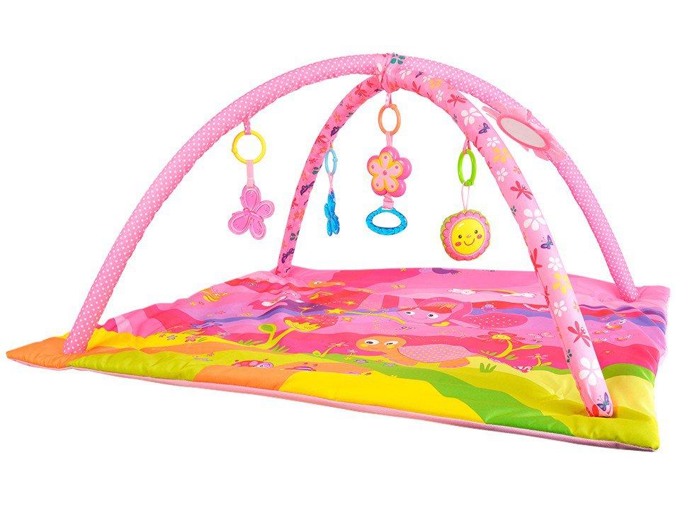 Tapete de Atividades Baby Style Borboletas - 7 Peças 88x81cm