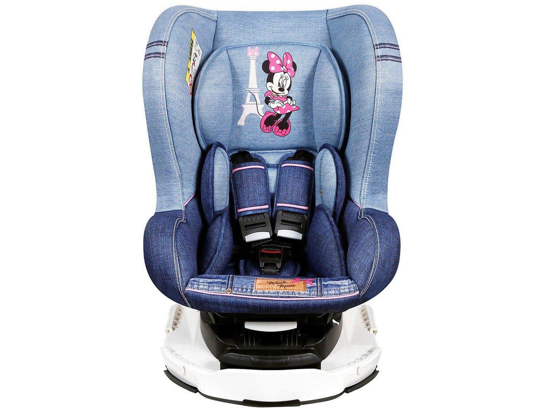 Foto 1 - Cadeira para Auto Reclinável Disney 4 Posições - Revo Denim Minnie Mouse para Crianças até 18kg