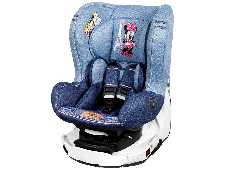 Foto 2 - Cadeira para Auto Reclinável Disney 4 Posições - Revo Denim Minnie Mouse para Crianças até 18kg