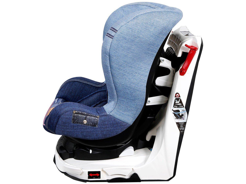 Foto 3 - Cadeira para Auto Reclinável Disney 4 Posições - Revo Denim Minnie Mouse para Crianças até 18kg