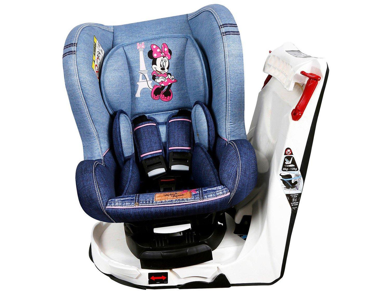 Foto 4 - Cadeira para Auto Reclinável Disney 4 Posições - Revo Denim Minnie Mouse para Crianças até 18kg