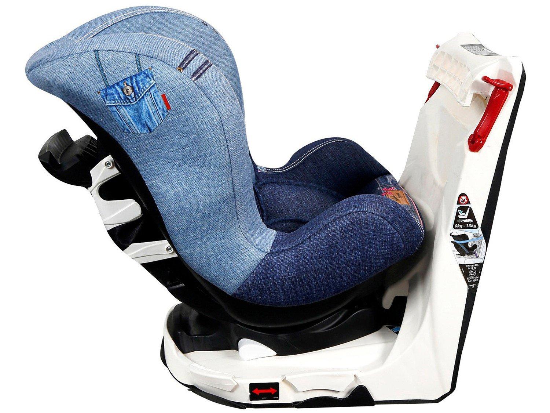 Foto 5 - Cadeira para Auto Reclinável Disney 4 Posições - Revo Denim Minnie Mouse para Crianças até 18kg