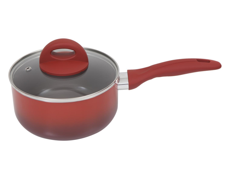 Jogo de Panelas Brinox de Alumínio Vermelha - 6 Peças Ceramic Life Smart Plus 4791/101 - 10