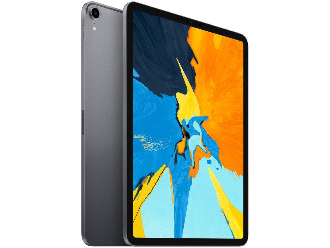 Foto 1 - iPad Pro Apple 512GB Cinza Espacial 11 Retina - Proc. A12X Câm. 12MP + Frontal 7MP iOS 12
