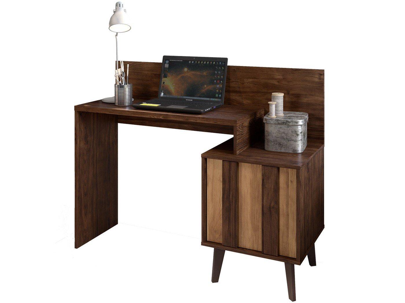Foto 5 - Escrivaninha/Mesa para Computador 1 Porta - Líder Design Premium Style