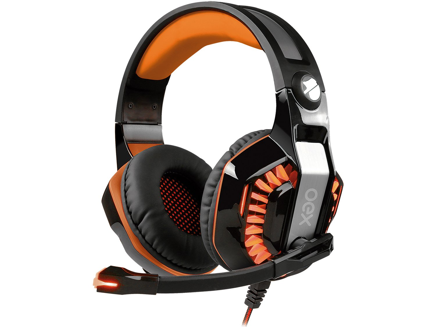 Foto 1 - Headset Gamer OEX Beast HS404 - para PC