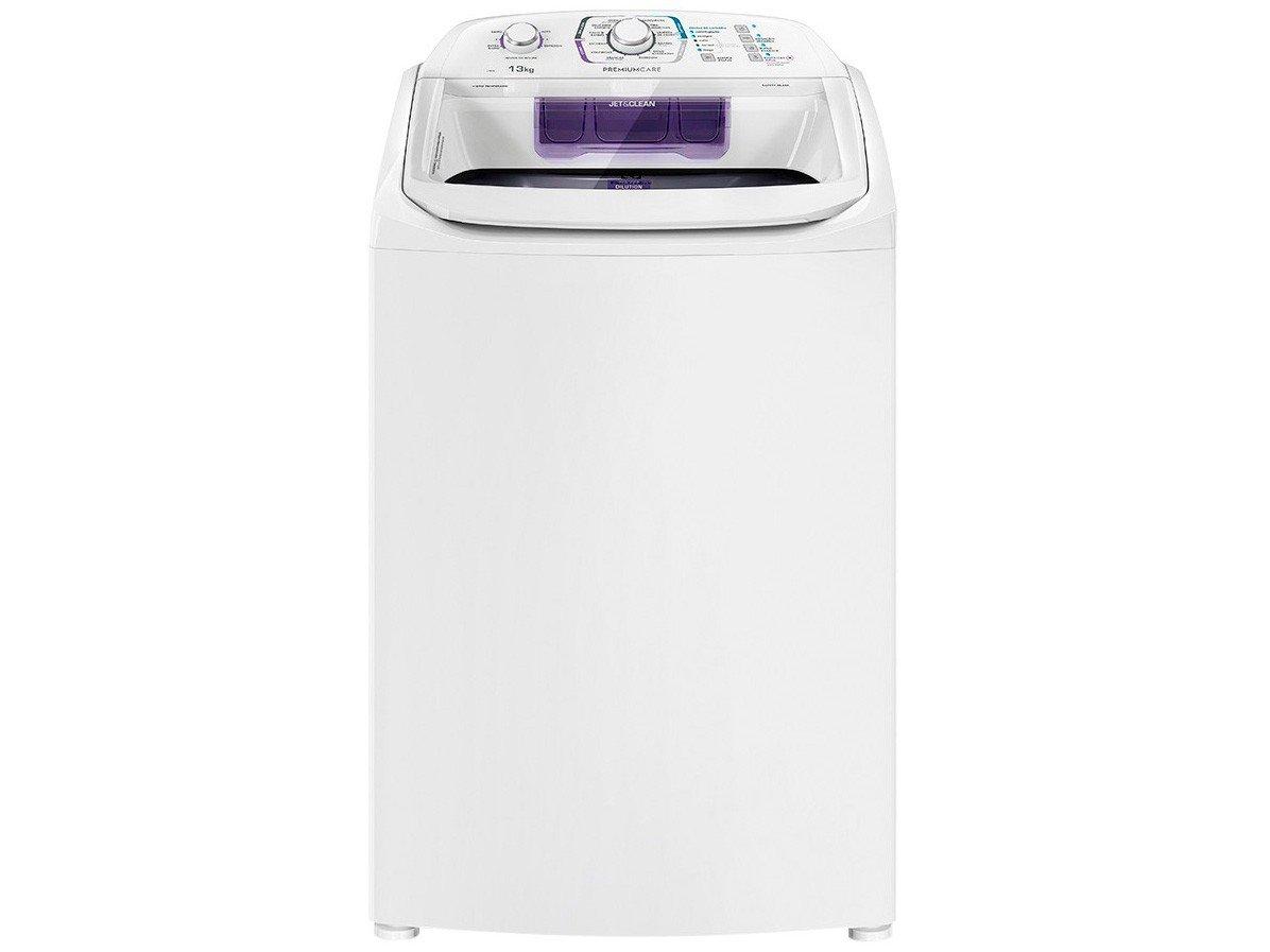 Lavadora de Roupas Electrolux Premium Care LPR13 - 13kg Cesto Inox 12 Programas de Lavagem - 110 V