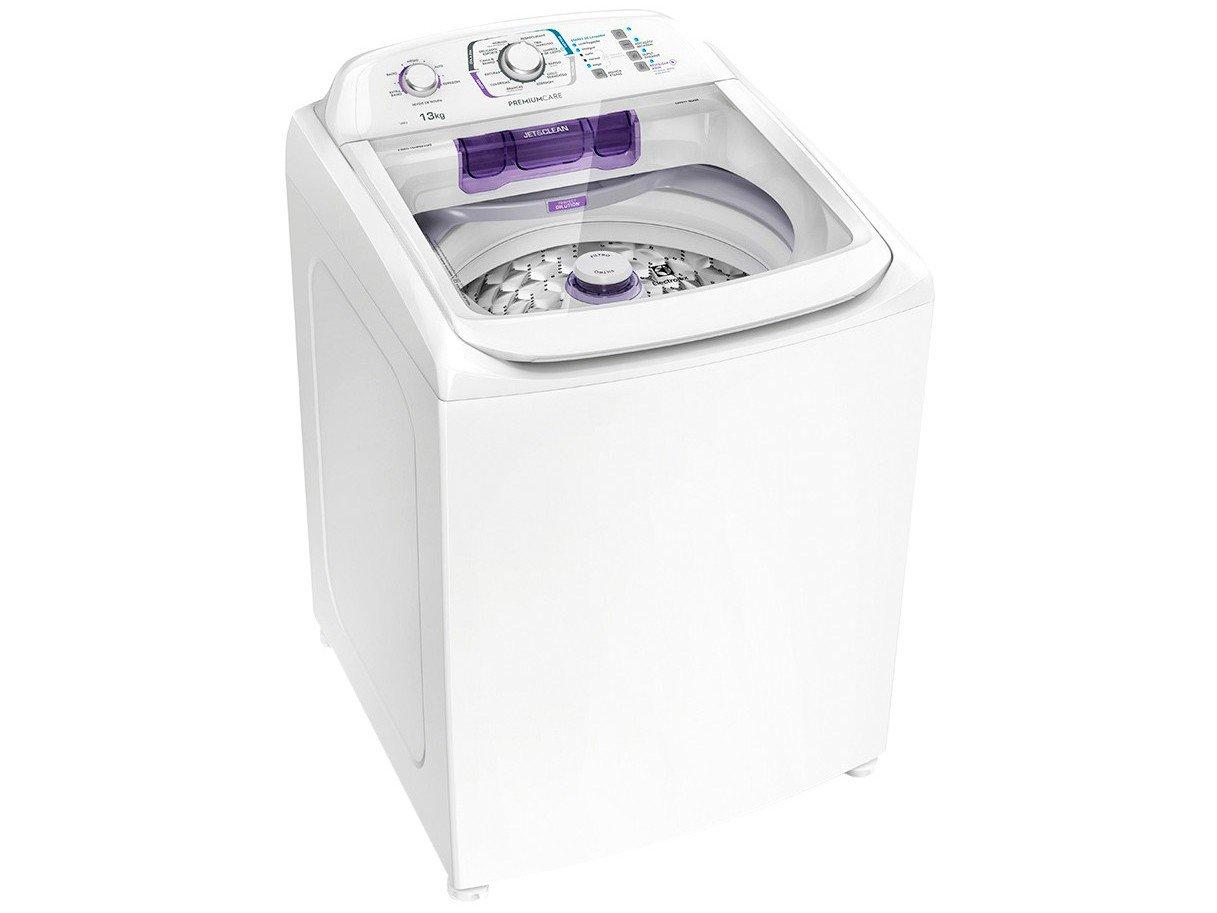 Lavadora de Roupas Electrolux Premium Care LPR13 - 13kg Cesto Inox 12 Programas de Lavagem - 110 V - 3