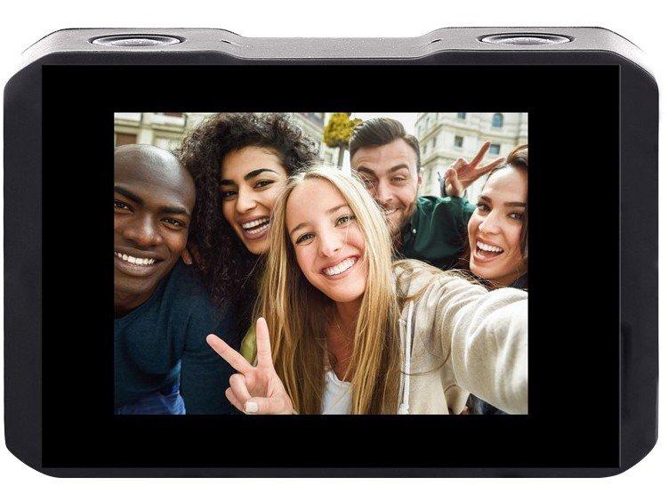 """Câmera de Ação XTrax Selfie 16MP Visor 2"""" - Panorâmica Filma em 4K Wi-Fi - 4"""