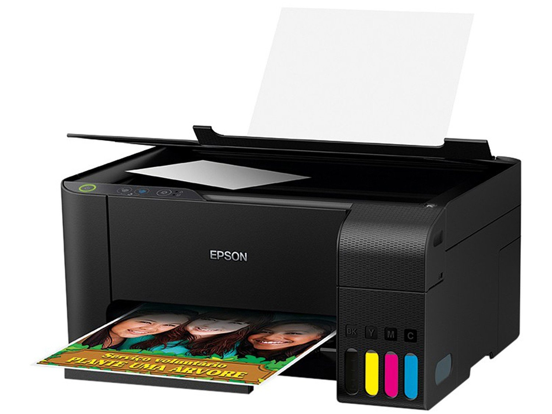Impressora Multifuncional Epson EcoTank L3110 - Tanque de Tinta Colorida USB - Bivolt