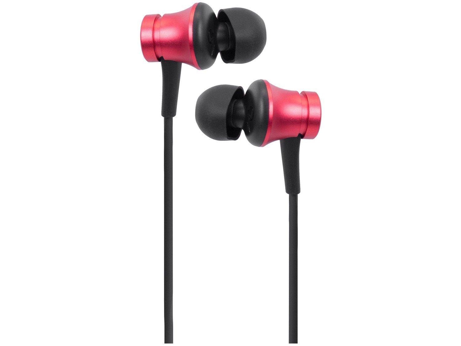 Fone de Ouvido Xiaomi XM274VER Intra-auricular - com Microfone Vermelho - 1