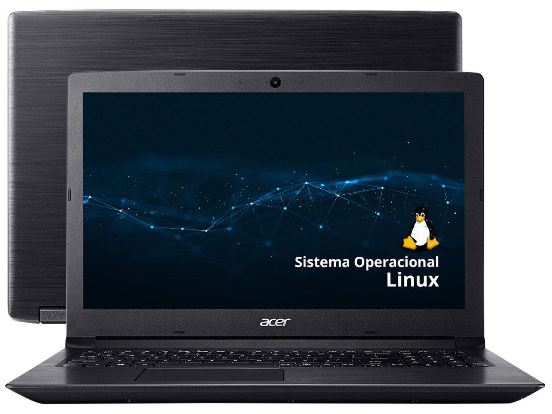 """Notebook Acer Aspire 3 A315-53-343Y Intel Core i3 - 4GB 1TB 15,6"""" Linux - Bivolt"""