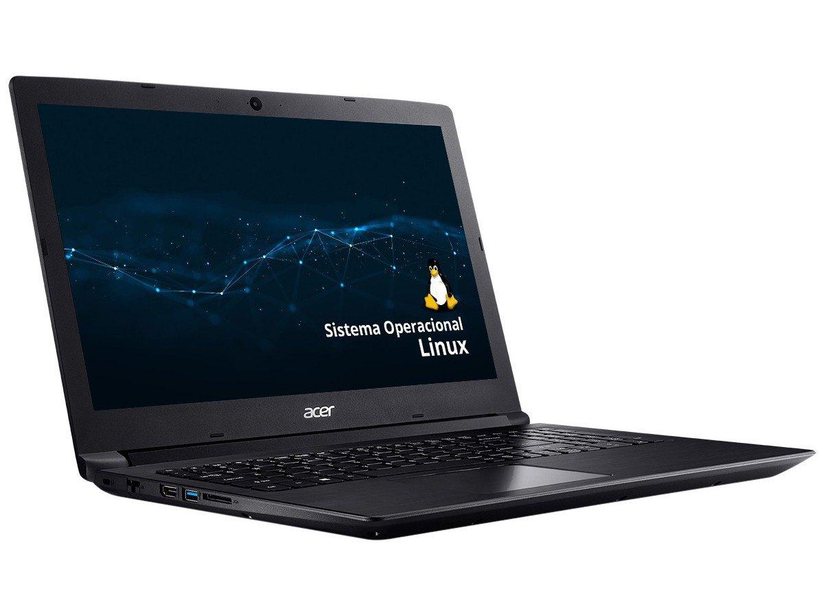 """Notebook Acer Aspire 3 A315-53-343Y Intel Core i3 - 4GB 1TB 15,6"""" Linux - Bivolt - 2"""