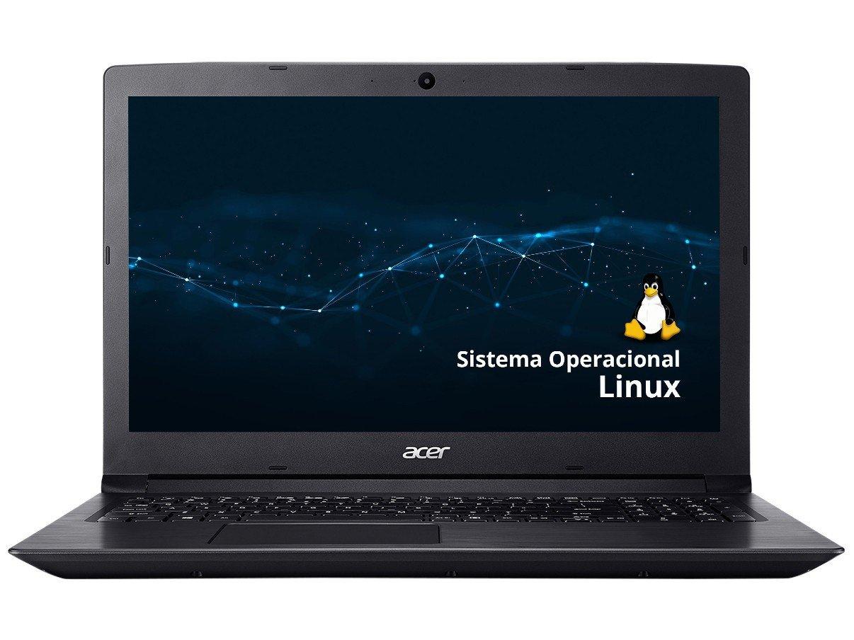 """Notebook Acer Aspire 3 A315-53-343Y Intel Core i3 - 4GB 1TB 15,6"""" Linux - Bivolt - 3"""