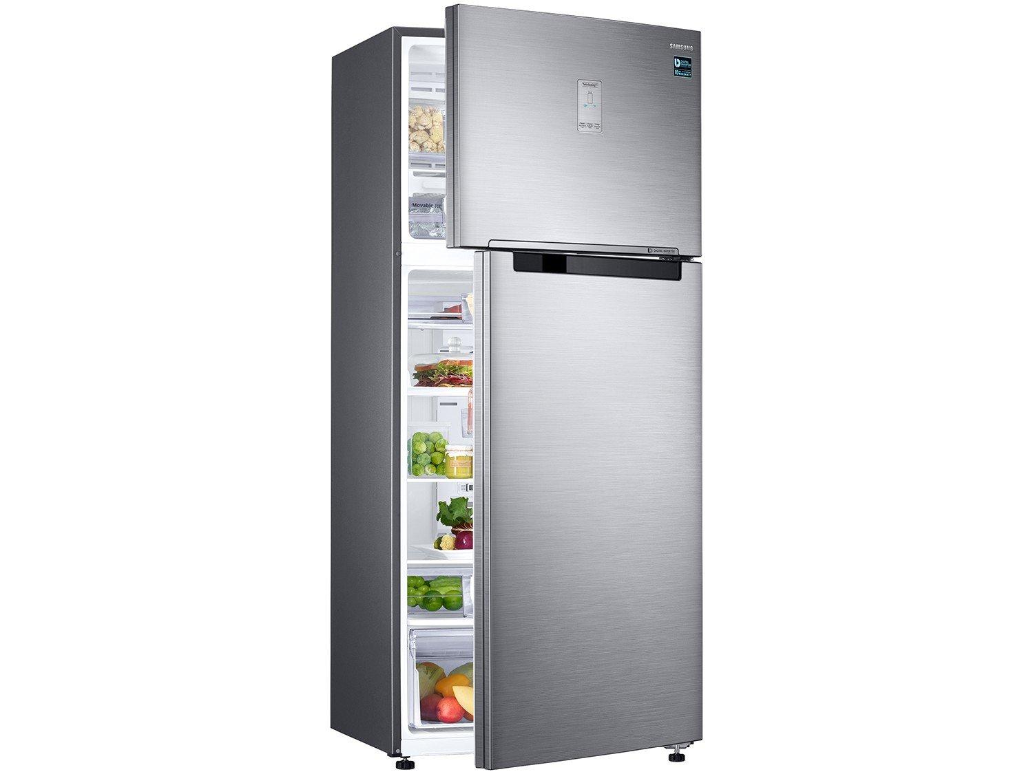 Geladeira/Refrigerador Samsung Automático - Inox Duplex 528L RT53K6240S8/AZ - 110 V - 4