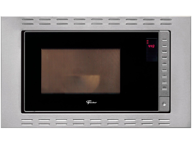 Foto 1 - Micro-ondas Inox Fischer 25L de Embutir - Fit Line 25873-56177
